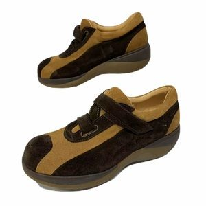 Amiana Womens Comfort Shoes Size US 7 EUR 38 Suede